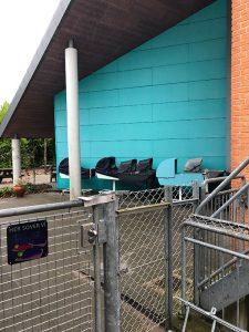 Billedtekst: Børnehaven Gadekæret i Vejlby lidt uden for Aarhus er fra 1997, og derfor er der hverken krav til sprinklingsanlæg eller automatisk brandalarmering.